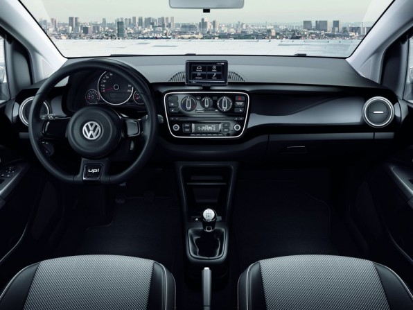 Innenraum des VW up