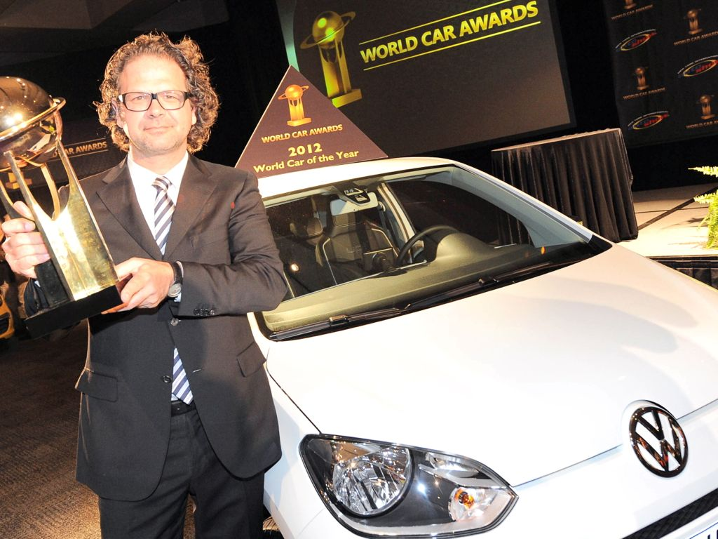 VW up wird world car of the year