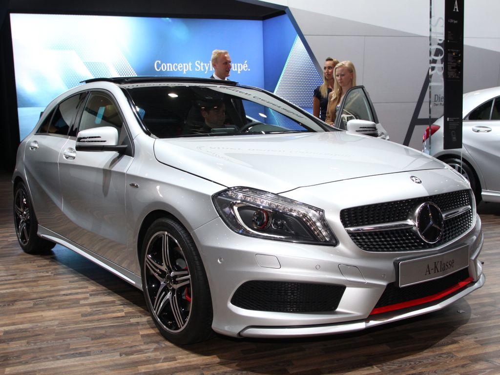 AMI 2012: Neue Mercedes A-Klasse