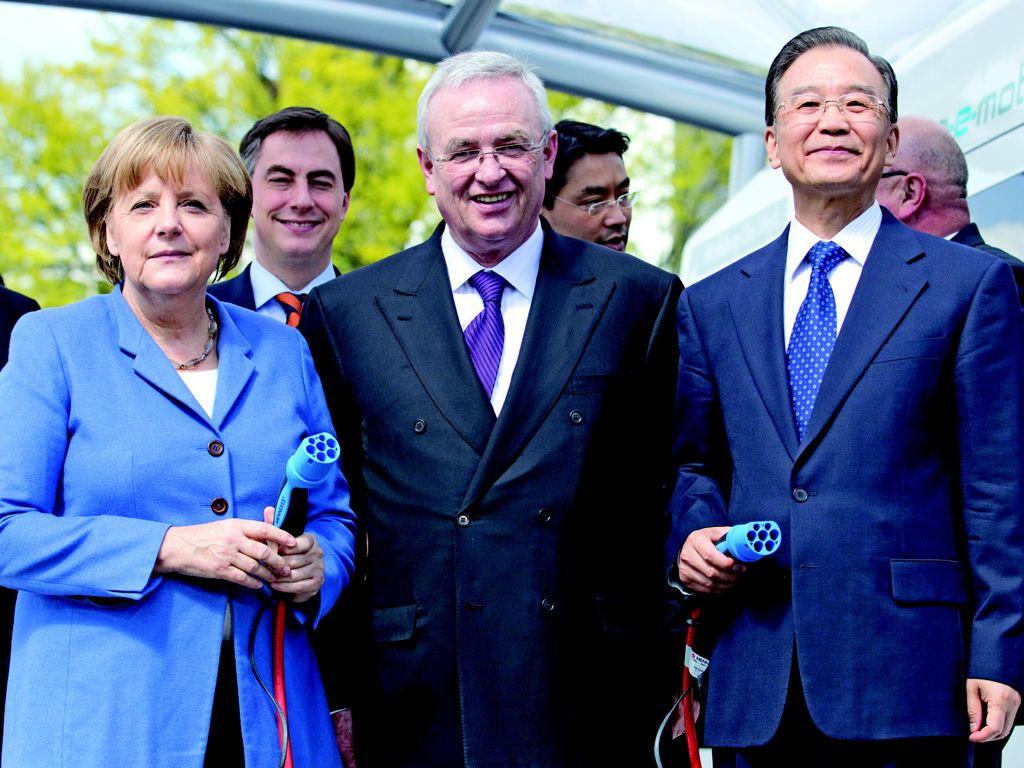 Bundeskanzlerin mit Chinas Regierung zu Gast in Wolfsburg