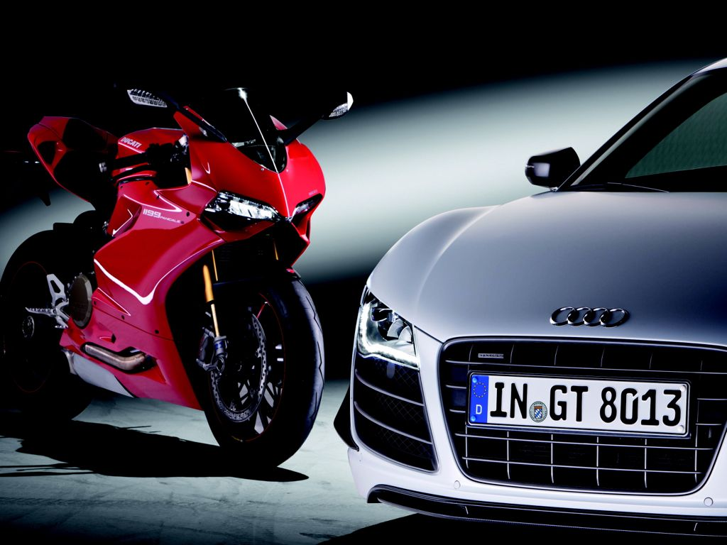 Audi und Ducati