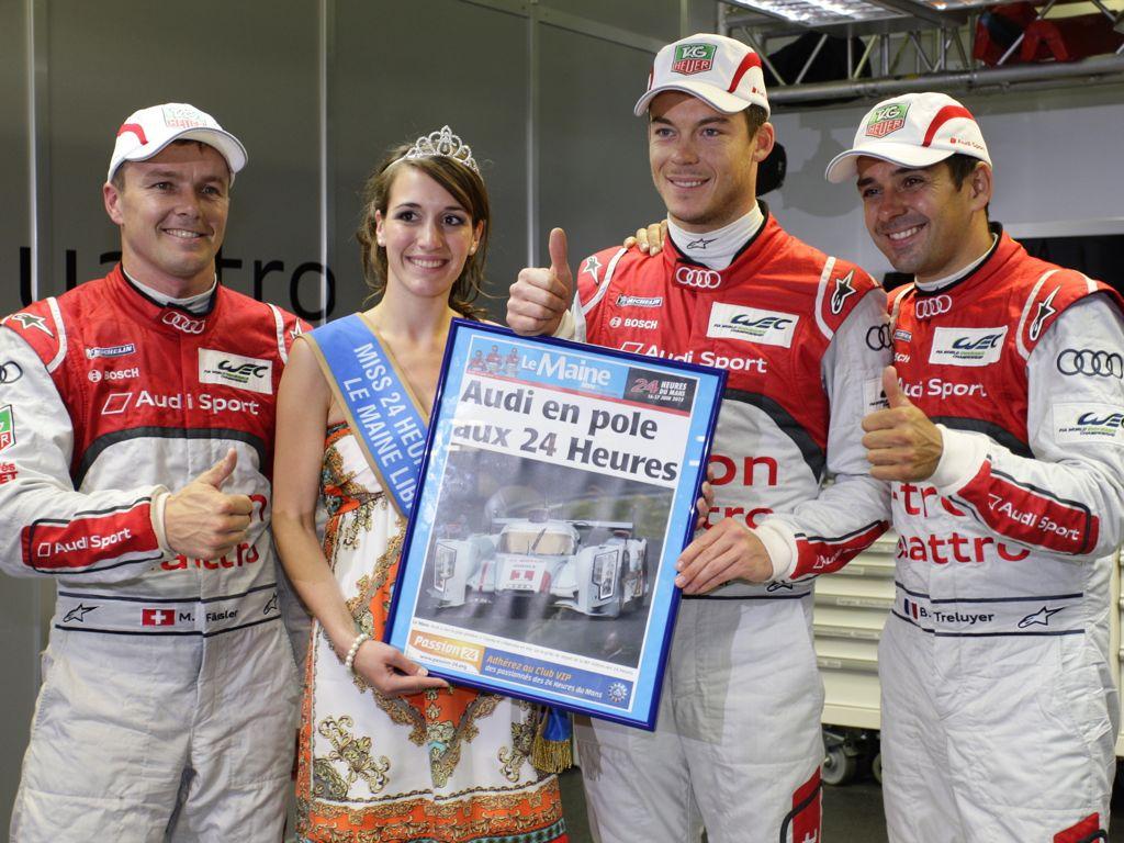 Audi mit historischem Dreifachsieg