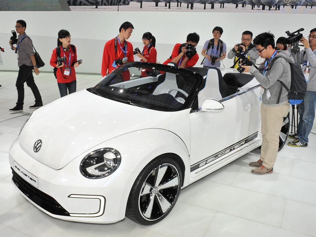 auto china 2012 special1 - Der i8 Spyder Concept ist ein sparsamer Roadster