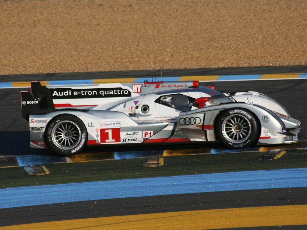 Le Mans 24 Audi gewinnt Platz 1-3