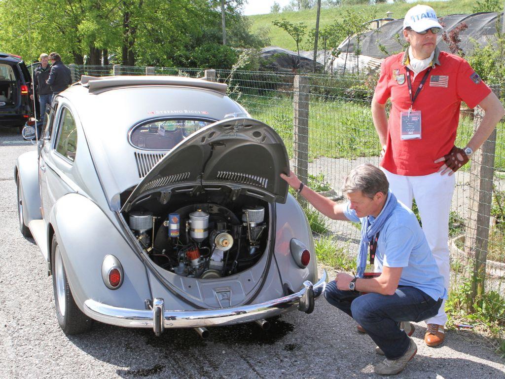 mille miglia vw kaefer - Auf der Mille Miglia zeigt das Team VW classic ihr Können