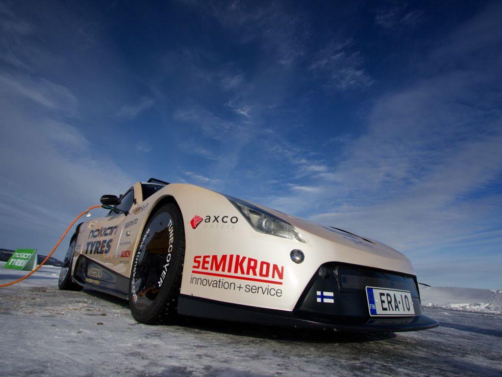 nokian elektroauto rekord  - Geschwindigkeitsrekord für Elektrofahrzeuge