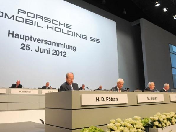 Porsche Hauptversamlung 2012 Porsche Holding sucht neue Herausforderungen