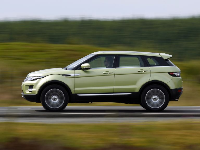 "Range Rover Evoque ""World Car Design of the Year"""