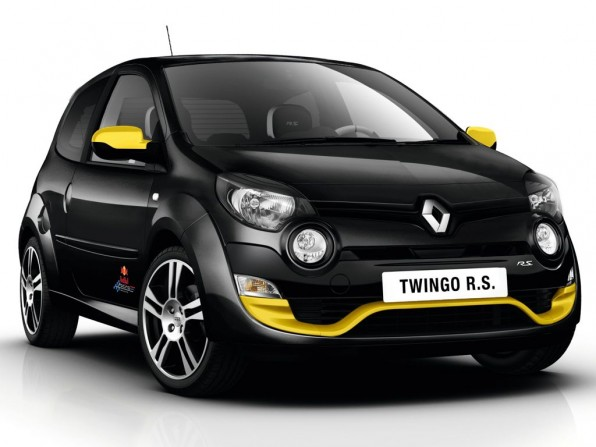 Sondermodell: Renault Twingo R.S. Red Bull Racing
