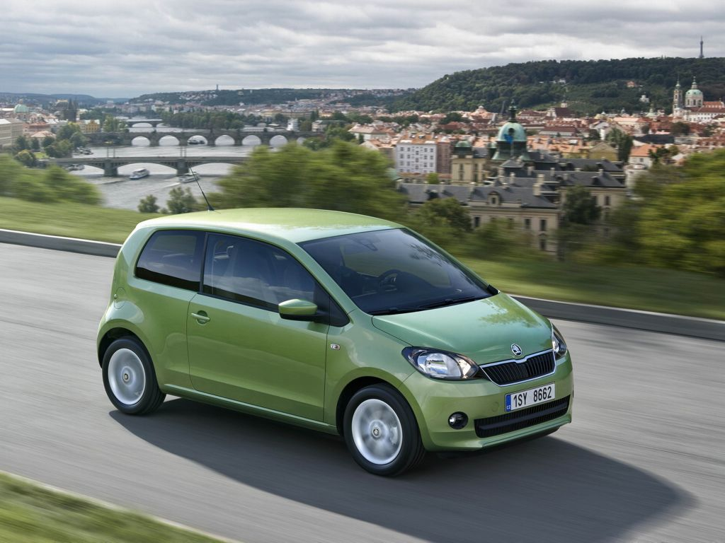 Skoda Citigo am Wörthersee