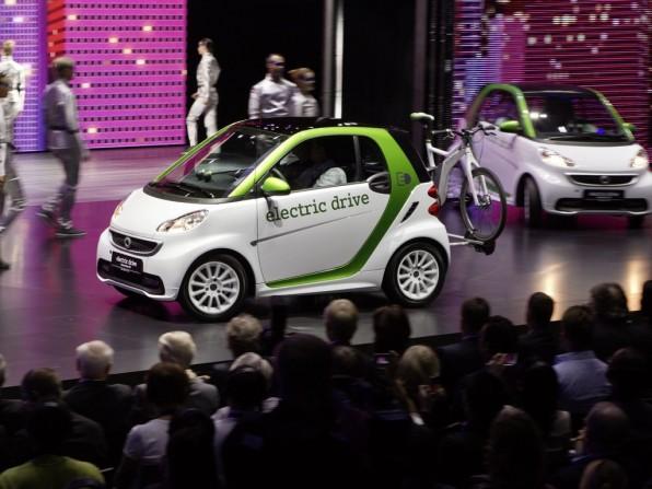 Smart Elektroauto: Ab 22.000 kann man den Fortwo Electric Drive kaufen