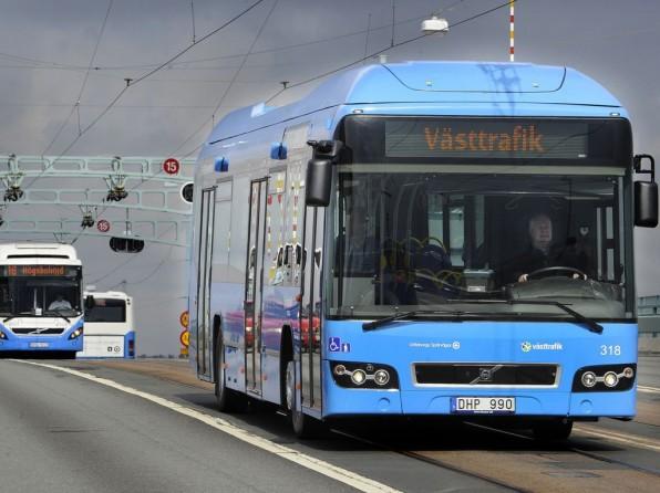 volvo hybridbus mj20121 596x446 - Hybridbusse für Göteborg: Volvo macht den Nahverkehr umweltfreundlicher