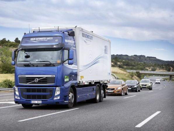 Volvo SARTRE Projekt