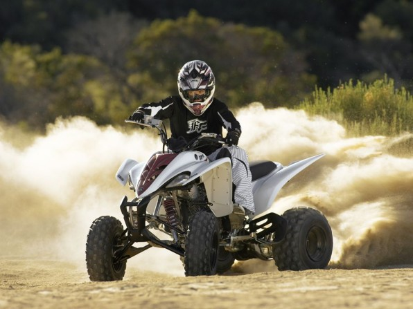 Yamaha YFM350R in Action