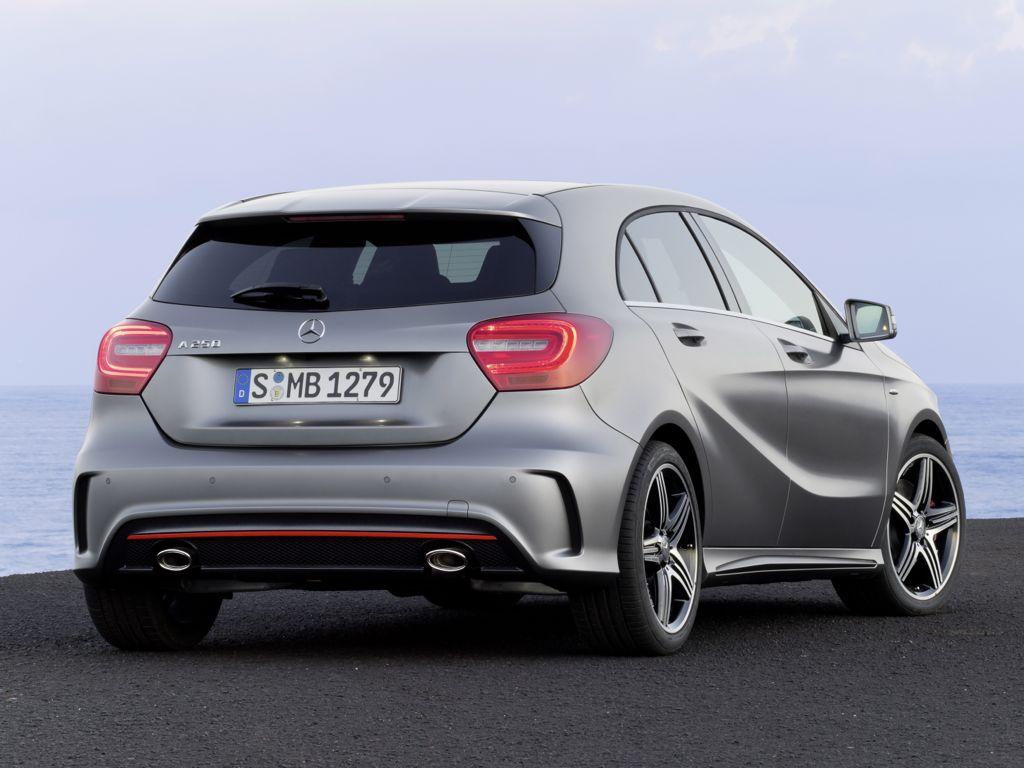 Mercedes neue A-Klasse im Modelljahr 2013