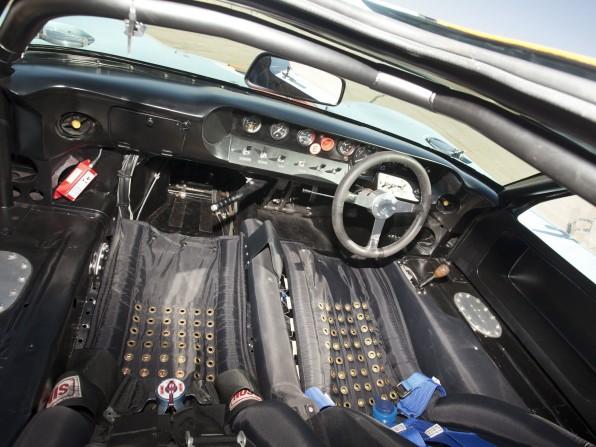 1968 Ford GT40 - spartanische Rennausstattung