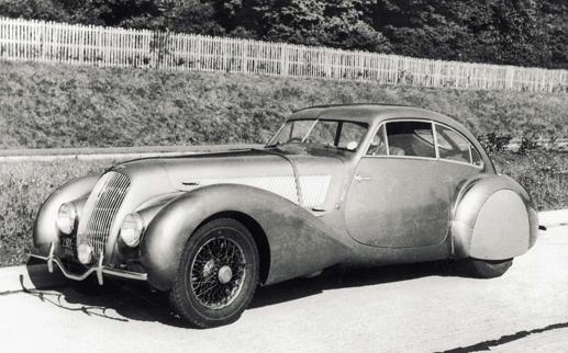 Bentley Embiricos wird ausgestellt