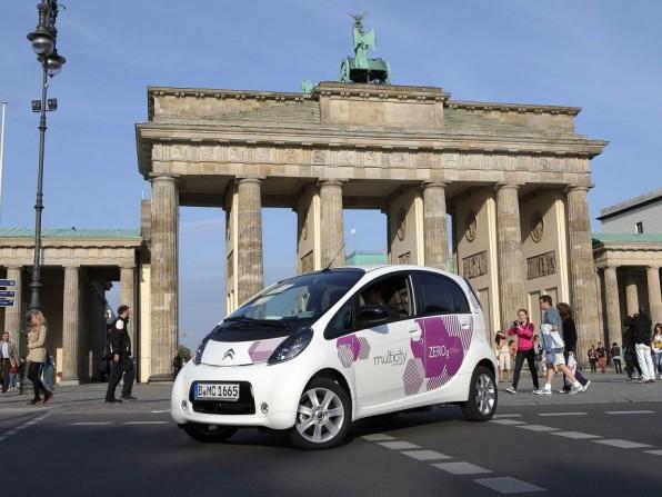 Citroën startet in Berlin Carsharing mit Elektroautos