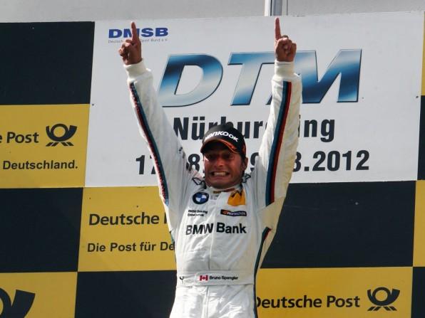 dtm nuerburgring1 596x447 - Spengler gewinnt DTM-Hitzeschlacht am Nürburgring