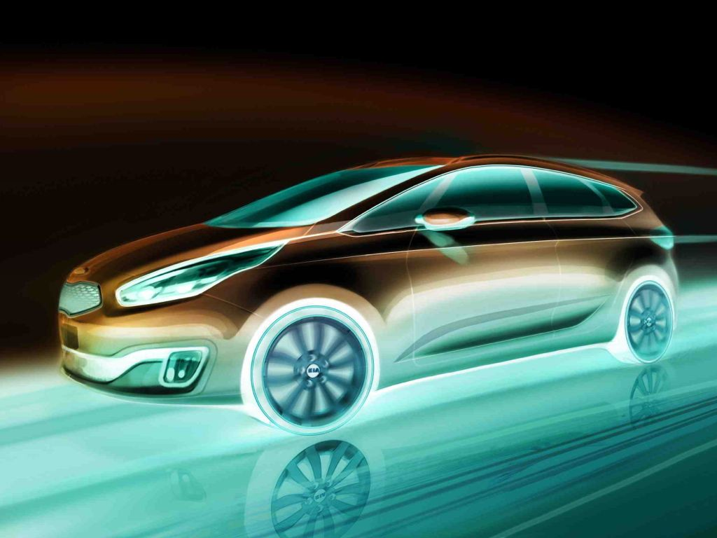 Kia Carens Weltpremier in Paris
