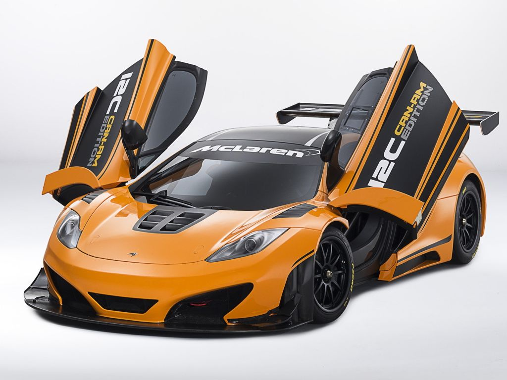 Bilder vom McLaren 12C Can-Am Edition Race Concept