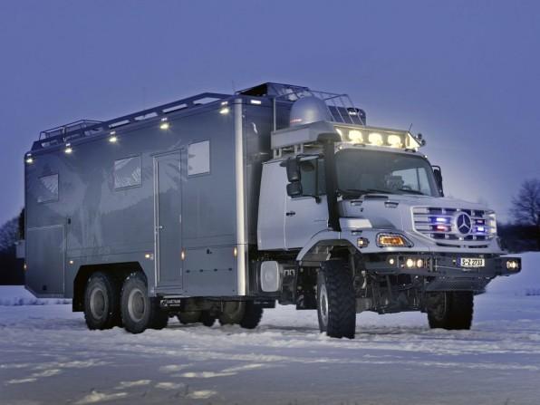 mercedes benz zetros 6x6 mj2012 img 01 596x447 - Mercedes Zetros Wohnmobil: Hochgeländetaugliches 6x6 Fahrzeug