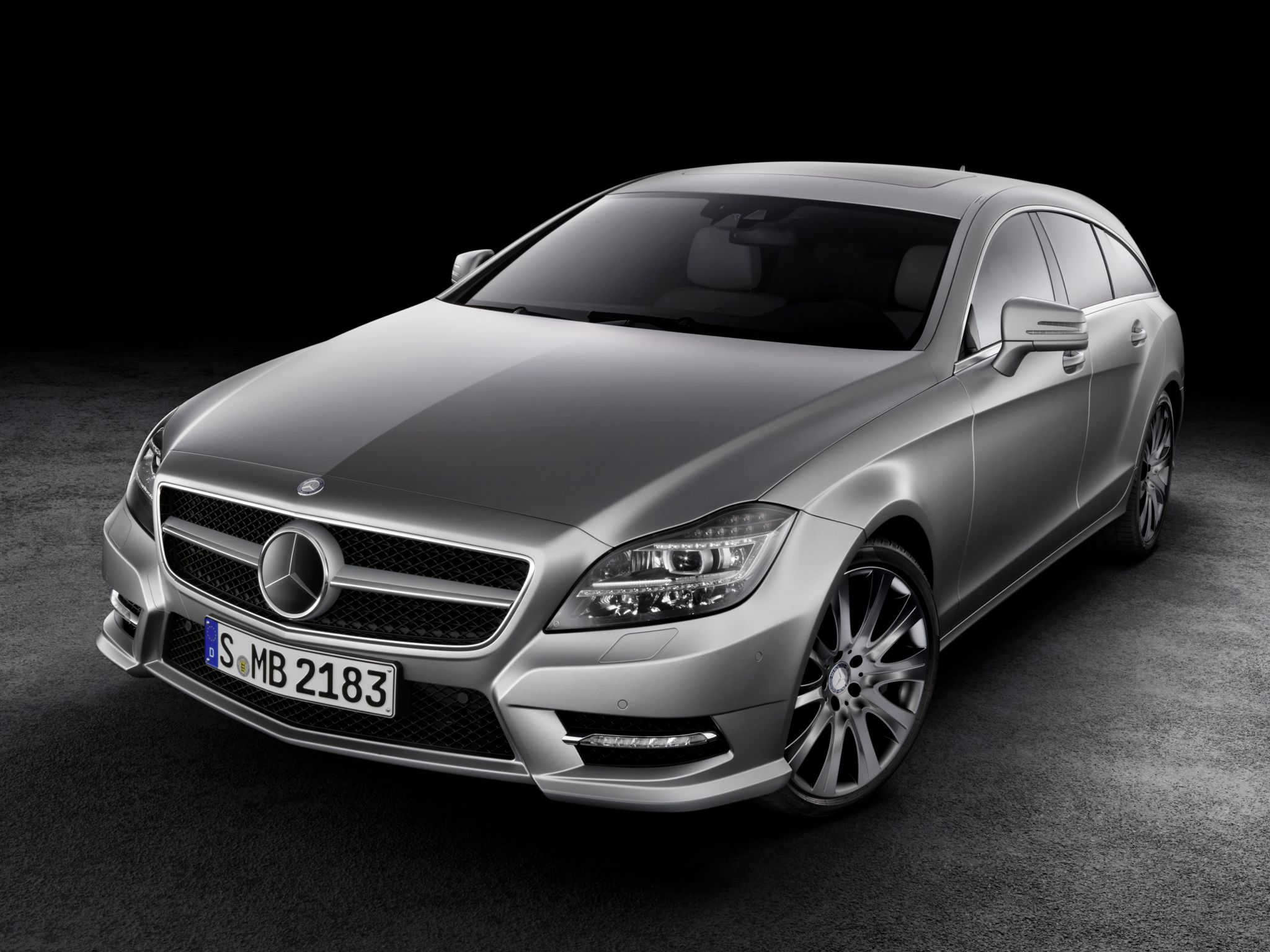 Mercedes CLS Shooting Brake (2013)