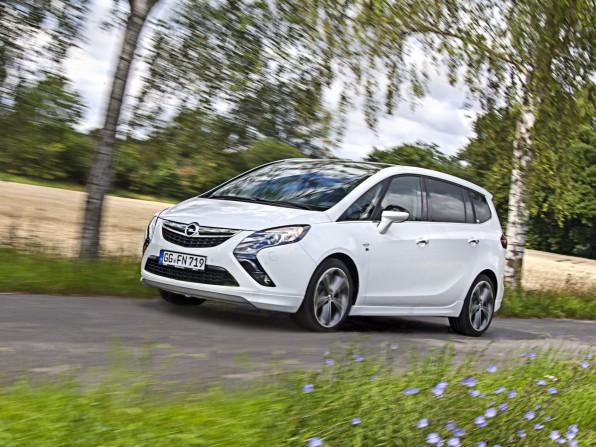 Opel Zafira Tourer mit Autogas
