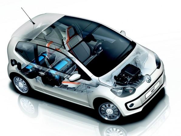 VW up mit Erdgasantrieb