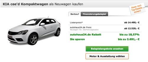 Kia Ceed bei Autohaus 24 kaufen - Kia cee´d SW (2013)