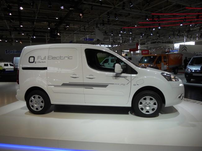 Peugeot Partner Électric auf der IAA Nutzfahrzeuge