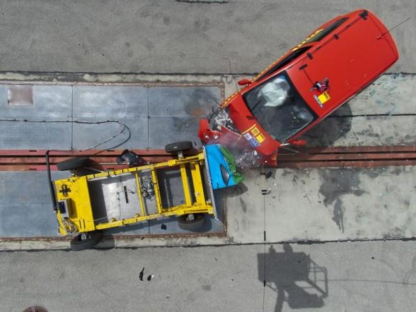 Kleinwagen Crashtest des ADAC