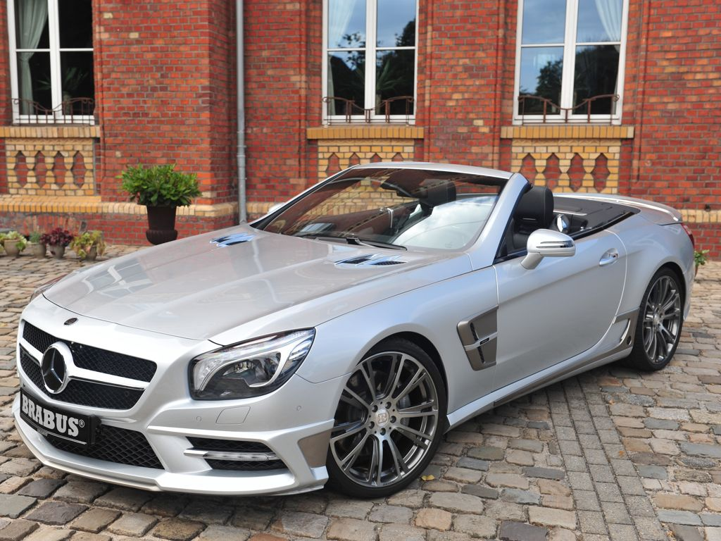 brabus verpasst dem mercedes benz sl 520 pferdest rken. Black Bedroom Furniture Sets. Home Design Ideas
