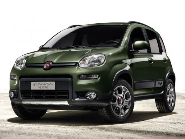 Paris 2012: Neuer Fiat Panda 4x4 mit sparsamen TwinAir-Motor