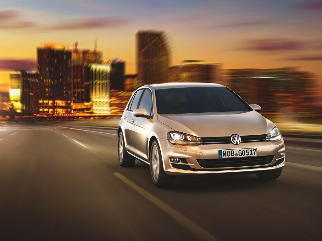 Bilder vom neuen VW Golf 7