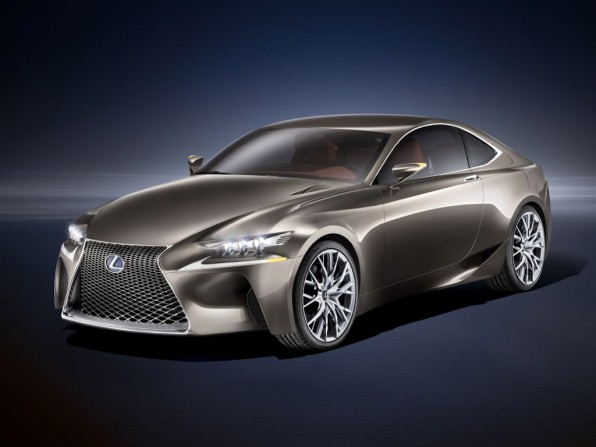 Paris 2012: Weltpremiere des sportlichen Lexus LF-CC