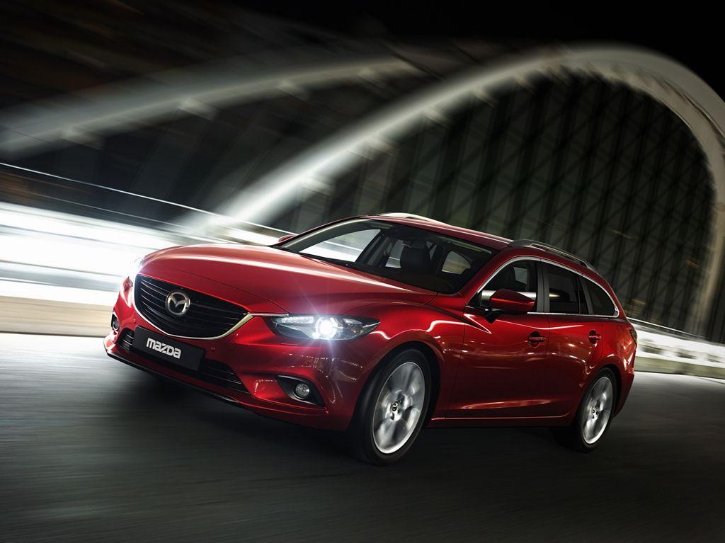Neuer Mazda 6 Kombi - Weltpremiere in Paris 2012