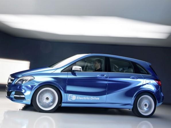 Mercedes-Benz B-Klasse als Elektroauto