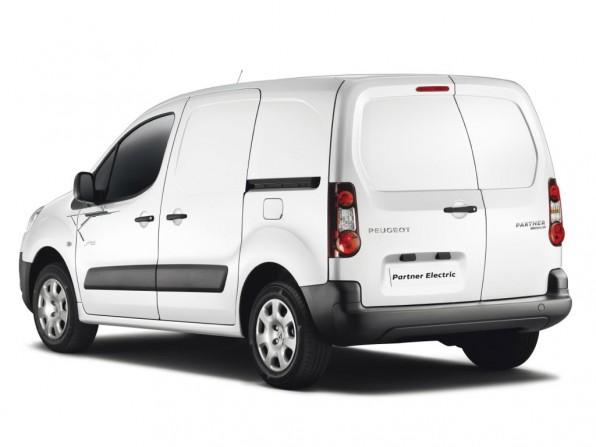 Peugeot PartnereElectric (Rückansicht) © Peugeot