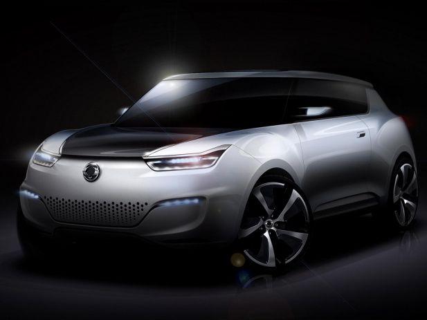 Paris 2012: Ssangyong zeigt Elektroauto Studie e-XIV