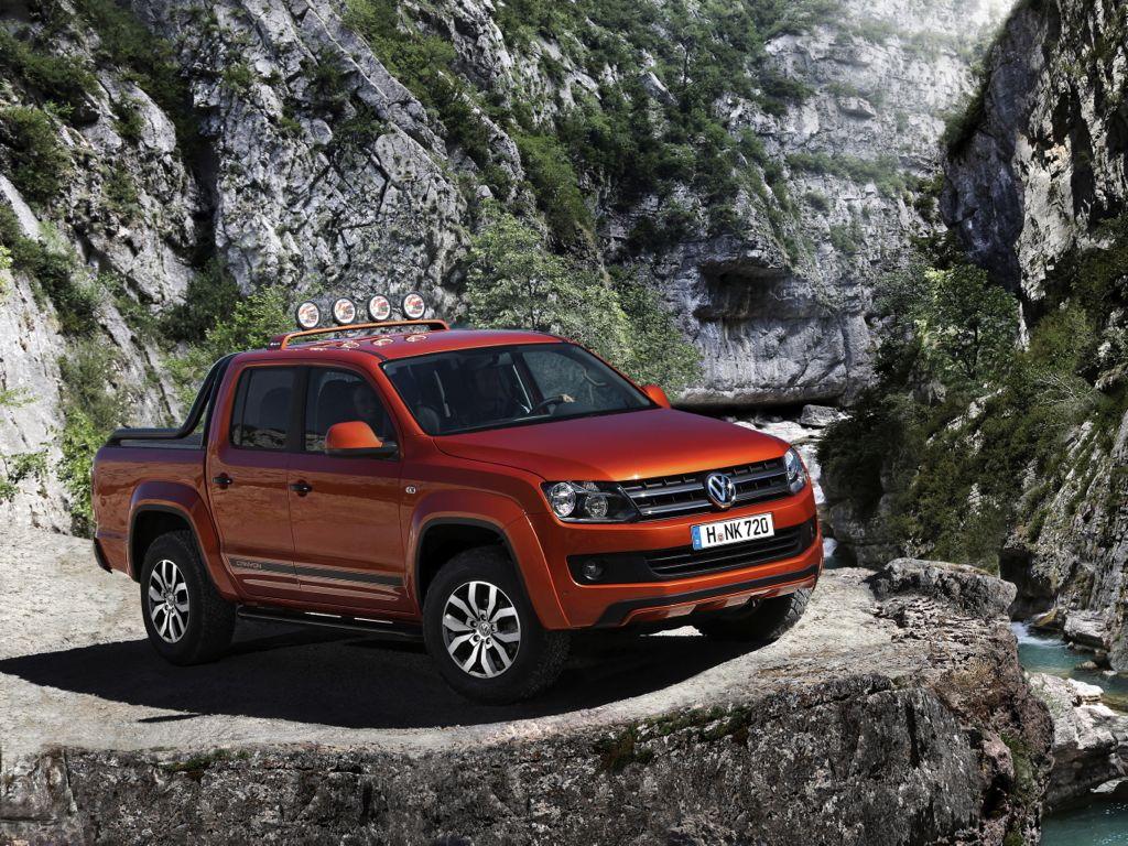 IAA 2012: VW Amarok Canyon ab 2013 zu kaufen