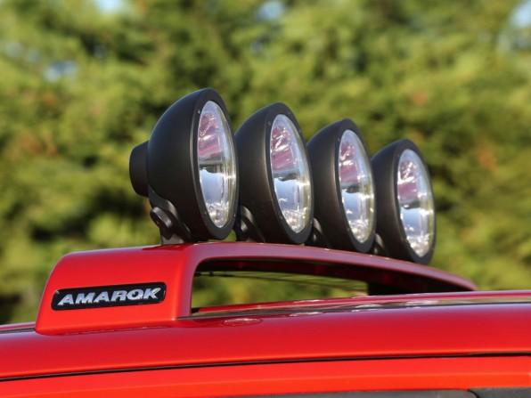 VW Amarok Canyon Zusatzscheinwerfer