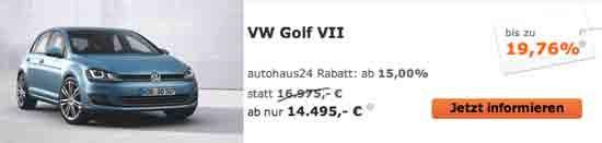 VW Golf 7 Autohaus 24