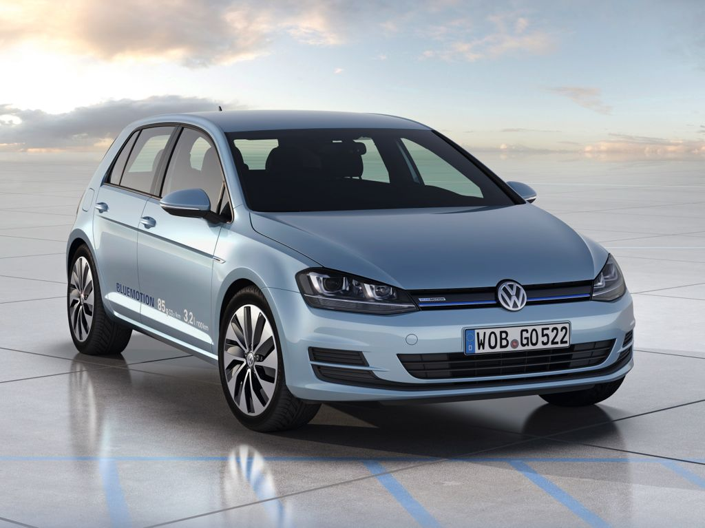 VW Golf 7 BlueMotion verbraucht nur 3,2 Liter
