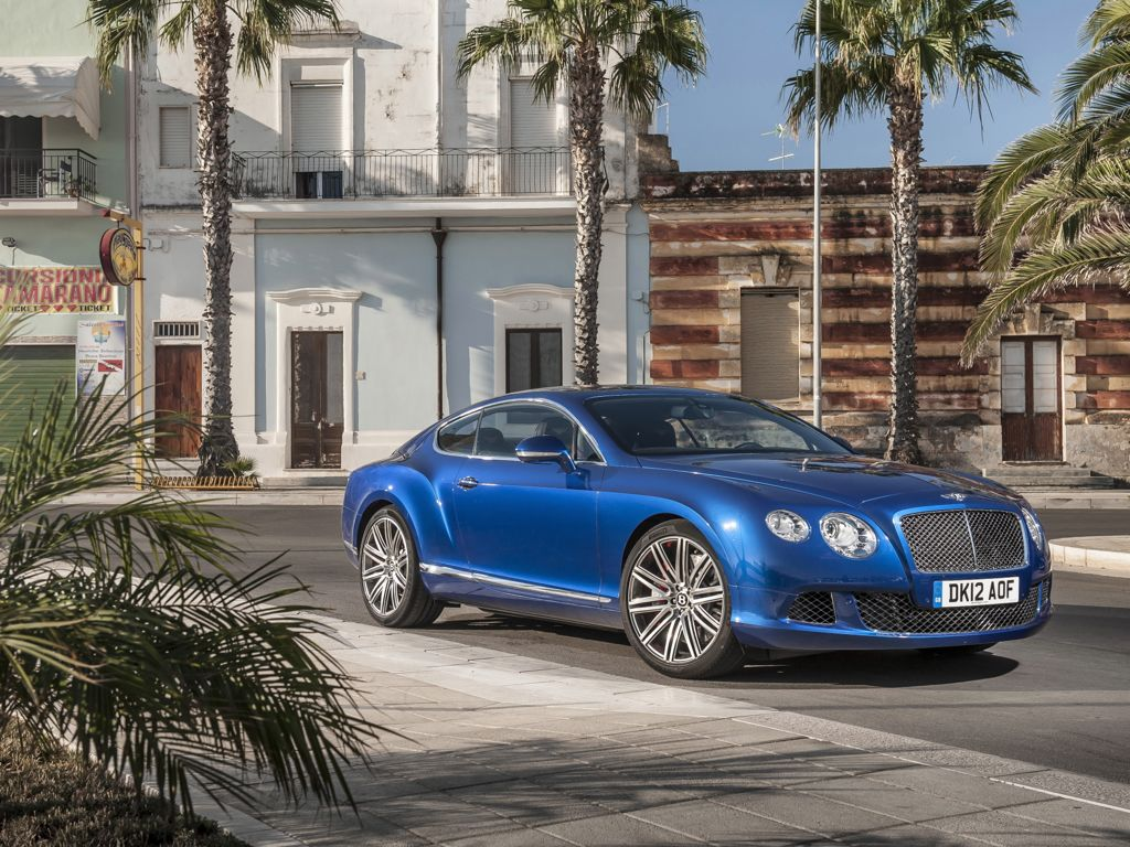 Bentley Continental GT Speed (2013)