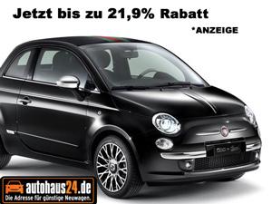 Fiat 500 mit Rabatt kaufen