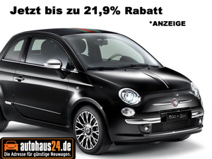 fiat 500 autohaus24 - Fiat 500L Preis: Ab 15.900 Euro beginnt die Preisliste
