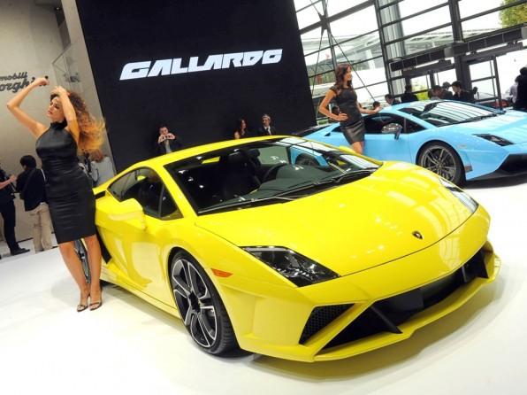 Lamborghini Gallardo LP 560-4 auf dem Pariser Autosalon 2012