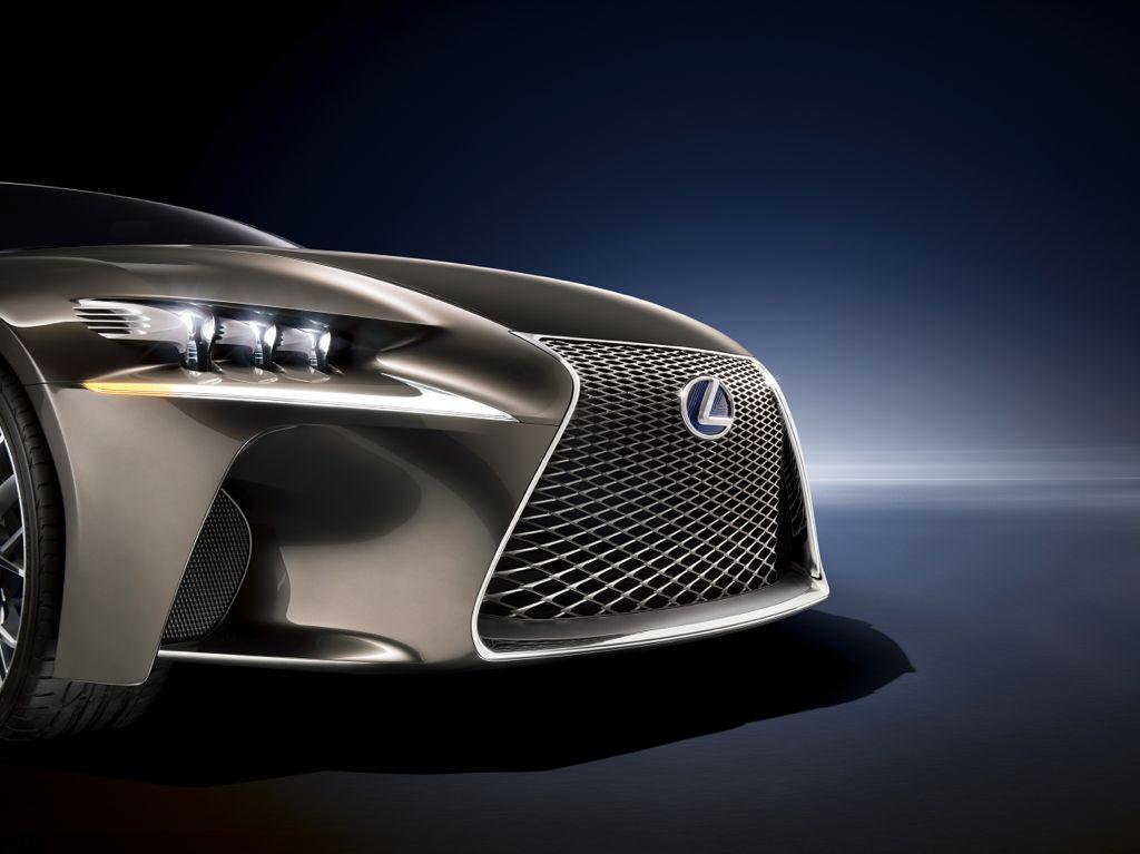 Paris 2012 - Lexus LF-CC Sportwagen der Zukunft