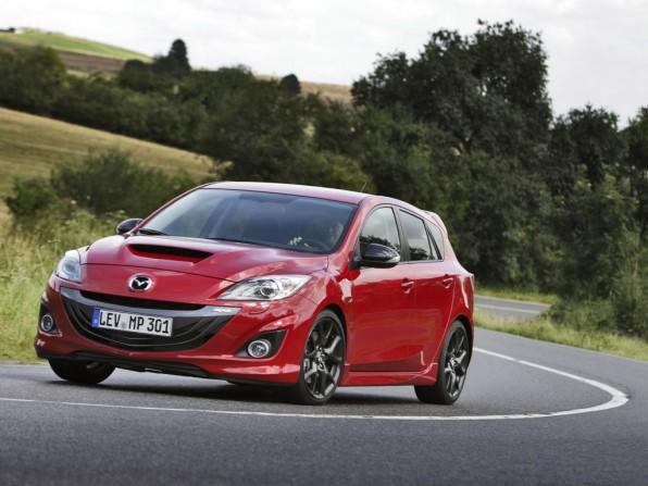 Mazda3 MPS mit einer Leistung von 260 PS